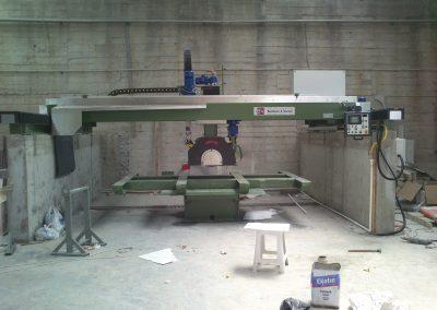 FLBV / 700-450 MG Köprü Kesim ve Cila Makinesi